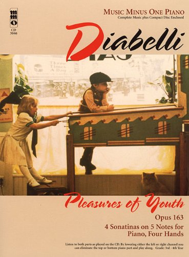 Diabelli: Pleasures of Youth, Opus 163, Piano [With CD (Audio)] (Mmo Misic for Piano Four Hands)