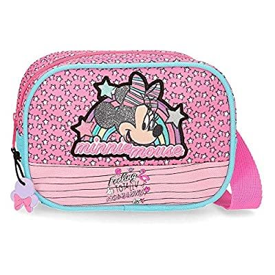 Disney Minnie Pink Vibes Sac banane Rose 17x12x6 cms Polyester