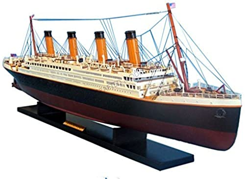 gran descuento RMS Titanic Titanic Titanic 40 - Titanic Model Cruise Liner - Wooden Cruise Ship - Museum Qual by Handcrafted Model Ships  mejor reputación