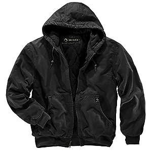 Men's Insulated Short  Winter Jacket