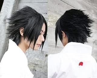 Weeck Anime Short Black Naruto Sasuke Durarara Izaya Orihara Cosplay Wig