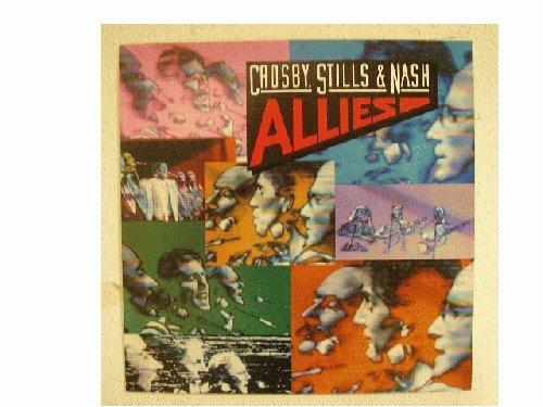 Crosby, Stills & Nash Poster Allies CSN Crosby David