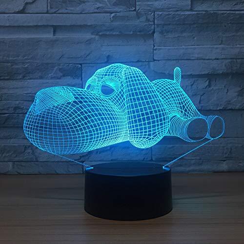 Spielzeug-Notentischlampen-Farbblinklichter der Hundelichtnachtlichtkinder Weihnachtsdekorationsausgangsgeschenk des neuen Jahres