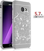 Samsung Galaxy A7 2017 Case, LWGON Aviation Aluminum Anti-scratch Strong Protection Metal Case for Samsung Galaxy A7 2017, Hollow Design Full Signal Samsung Galaxy A7 2017 Thor Case