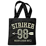 sac à bandoulière STRIKER MAJOR LEAGUE 1998 ARROW ET BOW COLLEGE ÉQUIPE ÉQUIPE USA AMÉRIQUE LOS ANGELES CALIFORNIA BROOKLYN NEW YORK CITY MANHATTAN RUGBY BASEBALL FOOTBALL FOOTBALL Sac école Turnbeu