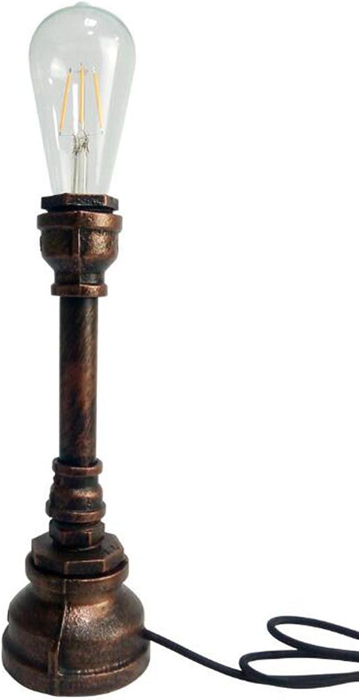 YUSHI Loft Vintage Edison Birne Tischlampe Tischlampe Tischlampe Dimmbare Wasserpfeife Licht Home Bar Decor B07P825LVL | Das hochwertigste Material  200c21
