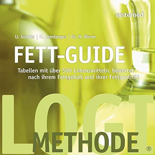 Fett-Guide: Tabellen mit über 500 Lebensmitteln, bewertet nach ihrem Fettgehalt und ihrer Fettqualität