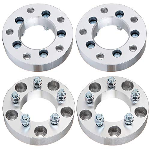 ECCPP 1.5' Wheel Adapters Spacers 5 Lug 5x135 to 5x4.5 87.1mm fits for F-ord Expedition for F-ord F-150 for Lincoln Blackwood with 12x1.5 Studs