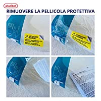 Pluribol Visiera Protettiva Paraschizzi in Pet Riutilizzabile Adulto Made In Italy Dispositivo di Protezione Individuale Cat.II 2 Pezzi #8