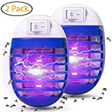 Best Indoor Mosquito Killers - Wanqueen 2 Pack Indoor Electric Bug Zapper Plug Review