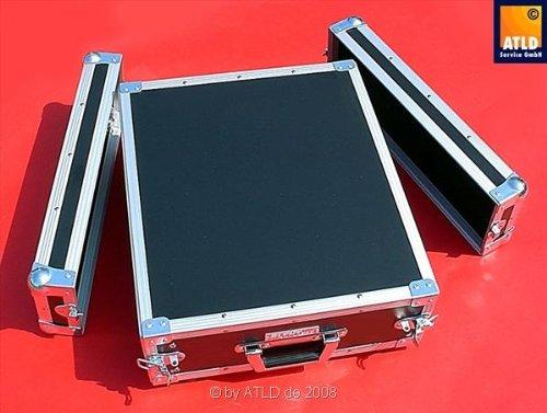 Case Rack 3 HE schwarz Flyht Pro Double-Door Rack