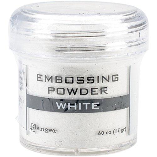 Ranger – Poudre à Embosser Blanc, Acrylique, Multicolore