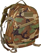 Fire Force 3 Day Assault Pack Made in USA (Woodland Camo)
