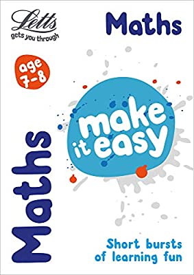 Maths Age 7-8 (Letts Make It Easy) from Letts