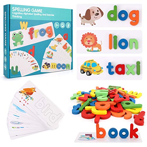 NASHRIO Spell Learning Toy, Word...