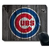 Vintage Wood Texture Background Passion Sparks Dream, Life Needs Sports Unique Design Non-Slip Rubber Gaming Mouse Pad