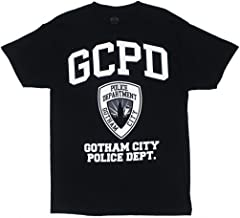 Batman Gotham City Police Department GCPD T-Shirt - Black
