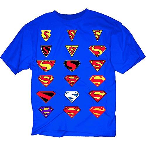 Evolution Of Superman Symbol Blue...