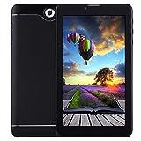 Android 7 Pulgadas Tablet PC, 512MB + 8GB, Llamada telefónica 3G Android 6.0, SC7731 Quad Core, OTG, SIM Dual, GPS, WiFi, Bluetooth (Color : Black)