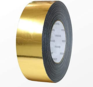 VViViD Gloss Gold Chrome Air-Release Vinyl Adhesive Tape Roll (3 Inch x 30ft)