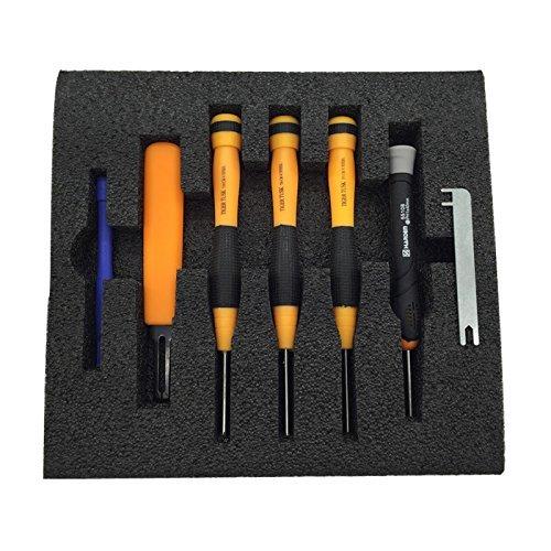PENIVO Kit de reparación para herramientas de montaje, kit de herramientas para parrot Bebop Drone destornillador, caja de herramientas, piezas RC Quadcopter