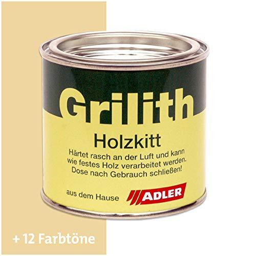 ADLER Grilith Holzkitt Spachtelmasse Kitt für Holz Möbel Basteln Reparieren Ahorn 100 ml