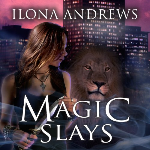 Magic Slays audiobook cover art