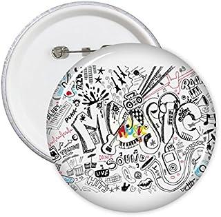 DIYthinker Graffiti Street Culture Musique Son Volume Art décoré à la main Métal Jazz Punk rock S Love Illustration Résult...