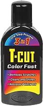 T-Cut Color Fast Black Finish restorer Car Polish wax 16 fl.oz.