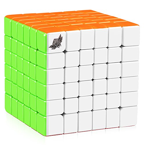 D-FantiX Cyclone Boys 6x6 Speed Cube Stickerless 6x6x6 Magic Cube Puzzles 68mm...