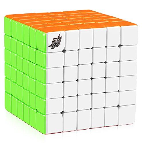 Cyclone Boys 6x6 Speed Cube Stickerless 6x6x6 Magic Cube Puzzles 68mm