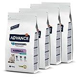 ADVANCE Hairball Pienso para Gatos Esterilizados - 1,5Kg x 4