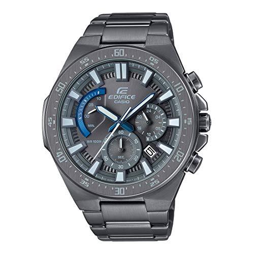 Casio Edifice Reloj de cuarzo gris Gunmetal acero inoxidable cronógrafo EFR-563GY-1AVUDF