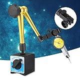 Magnetfuß, Magnet Messuhrfuß Ständer Halter Ständer, 350 mm Aluminiumlegierung, verstellbarer Ständer mit kleiner Spurweite, Digitaler Messuhr-Testanzeiger, Flexibler Arm für...