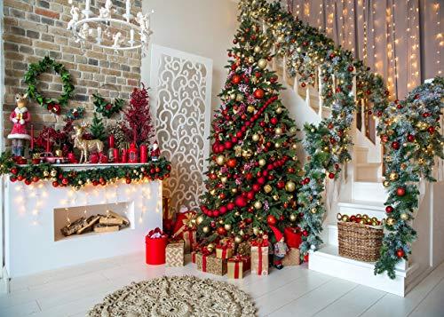 Christmas Snow Pinecones Christmas Ball Theme Seamless Pictorial Cloth Customized Photography Backdrop Background Studio Prop APO171A 7X5FT Apotoe 210X150CM