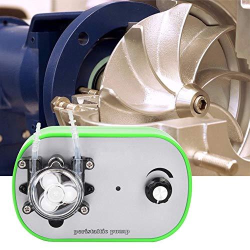 【𝐒𝐞𝐦𝐚𝐧𝐚 𝐒𝐚𝐧𝐭𝐚】 Bomba peristáltica para líquidos, bomba peristáltica en miniatura, bomba autocebante, bomba dosificadora de dosificación pequeña para laboratorio analítico(10 ~ 33ml / min)