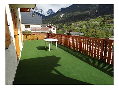 Decoweb Rouleau Moquette Outdoor sur plots (2m x 5m)