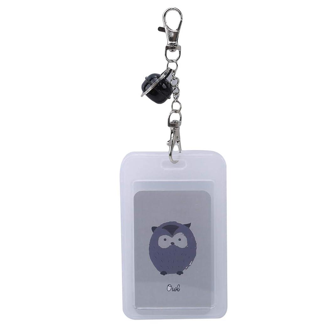 機械的願望品揃えBigsweety透明なクリエイティブカードパッケージキーチェーン 11 * 7 cm バスカードセット,  3