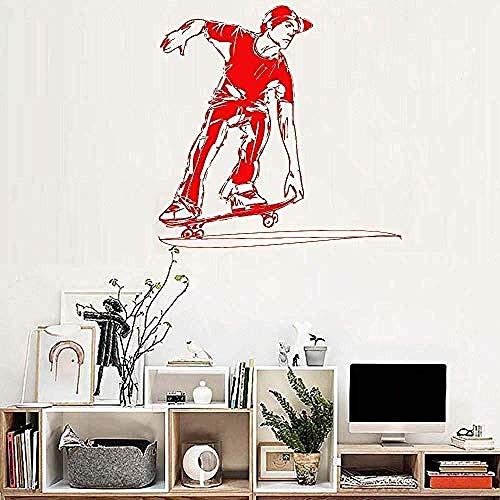 Etiqueta De La Pared Arte Calcomanía Mural De Vinilo 40X40Cm Diseño De Cartel Dormitorio Decoración Fresca Papel Extraíble Extraíble Hogar Techo Decoración De Oficina