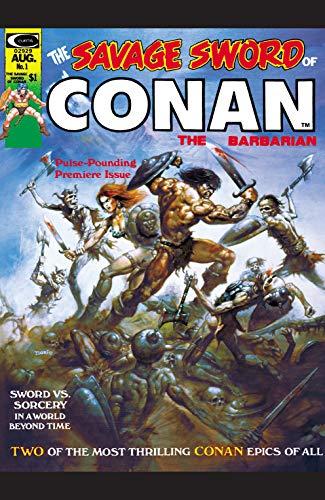 Savage Sword Of Conan (1974-1995) #1 (English Edition)