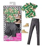 Barbie Set Floral Print | Ken Trend Mode Mattel FXJ39 | Puppen-Kleidung -