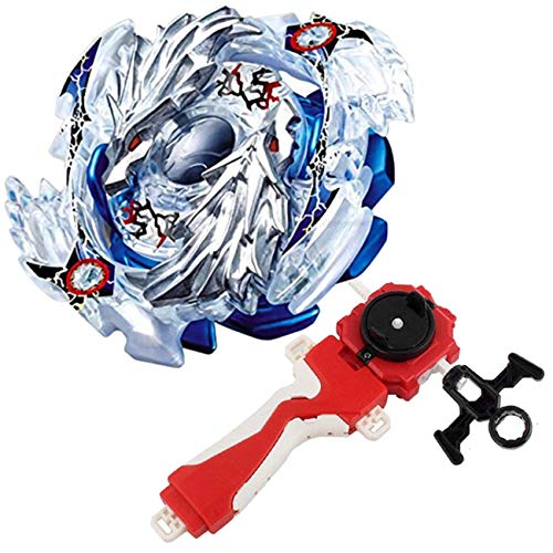 Bey Burst Evolution Turbo Battling Top Blade God Bey & Lr Launcher Grip Spryzen Starter Set B-66 Booster Lost Longinus Luinor.N.Sp Attack Gyro Battle Kit Gaming Tops Novelty Spinning Toy Gift for Boy