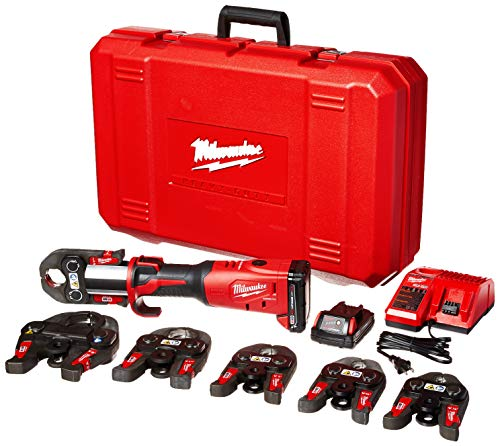 Milwaukee 2773-22 M18 Force Logic 1/2' - 2' Press Tool Kit (6 Jaws Included)