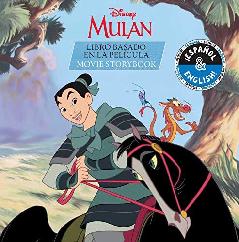 Disney Mulan: Movie Storybook/Libro Basado Película