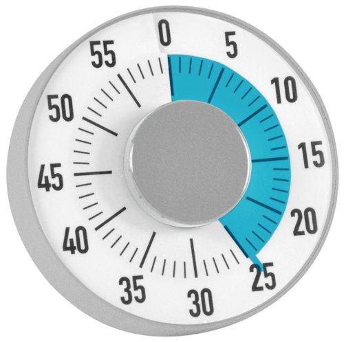 """Zeitdauer-Uhr\""""Automatik\"""" mit Ablauf-Signal"""