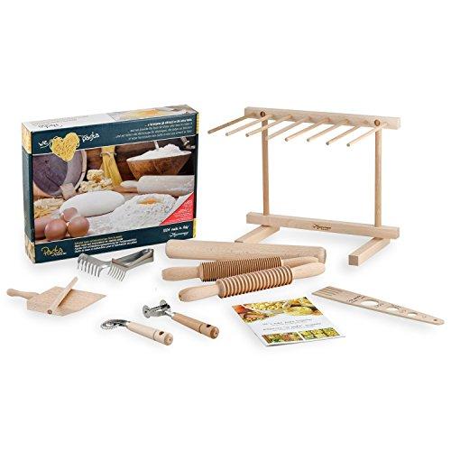 ExtraGourmet Nudeln Zubereitungs/Pasta Starter Set - Herstellung von Teigwaren