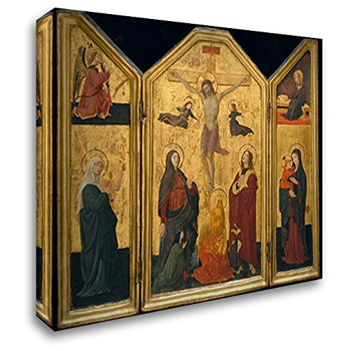 Crucifixion 22x20 Gallery Wrapped Stretched Canvas Art by Paolo Uccello