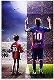 Rompecabezas Adultos Niños Puzzle 300 Piezas Messi, 300 Piece 15.7x11inch(40x28cm) Sin Marco