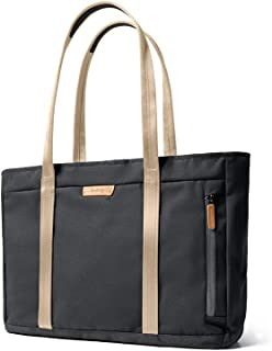 "Bellroy Classic Tote, Water-resistant Woven Fabric Laptop Tote (15 liters, 15"" Laptop) - Charcoal"