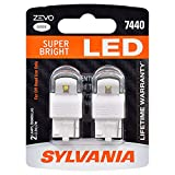 SYLVANIA - 7440 T20 ZEVO LED White Bulb - Bright LED Bulb, Ideal for Daytime Running Lights (DRL) and Back-Up/Reverse Lights (Contains 2 Bulbs)